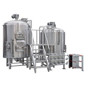 200l 300l 400l Beer Brewing Equipment / Electric Stainless Steel Mash/Lauter Tun / Micro Brewery