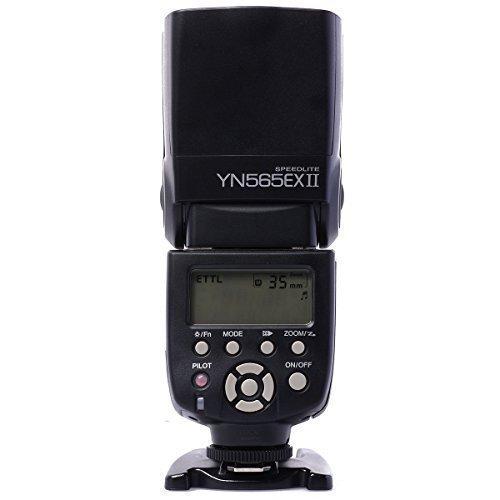 Yongnuo YN-565EX II E-TTL flash Speedlight de Multi-función Flash para Cámara Canon DSLR + WINGONEER Diffuser