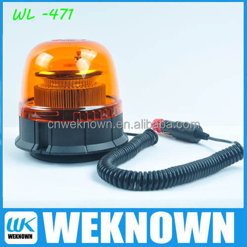 2017 New model Warning beacons ,high quality warning light, Revolving light with ECE R65