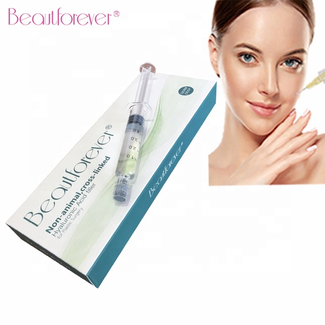 Beautforever hyaluronic acid injectable dermal filler for lip enhancement фото