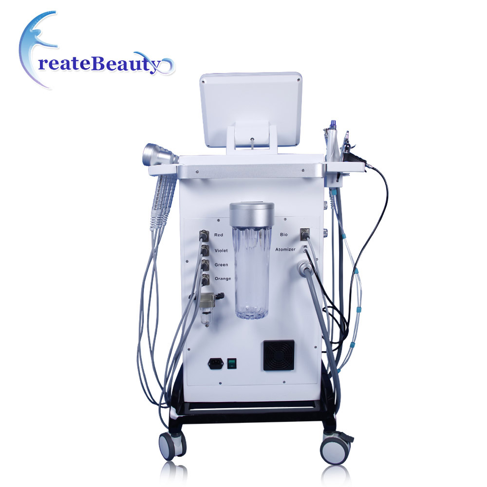 New deep cleansing oxygen facial machine water dermabrasion beauty machine for salon