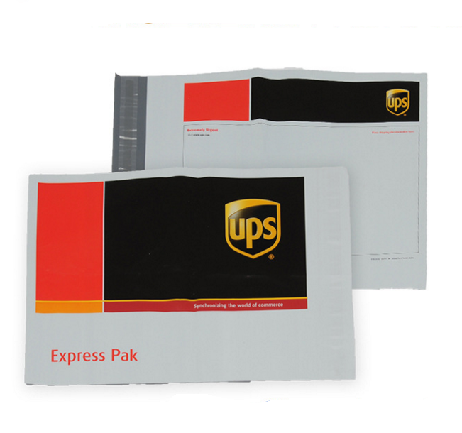 Custom Ups Dhl Tnt Fedex Plastic Poly Patterned Mailing Shipping Bags