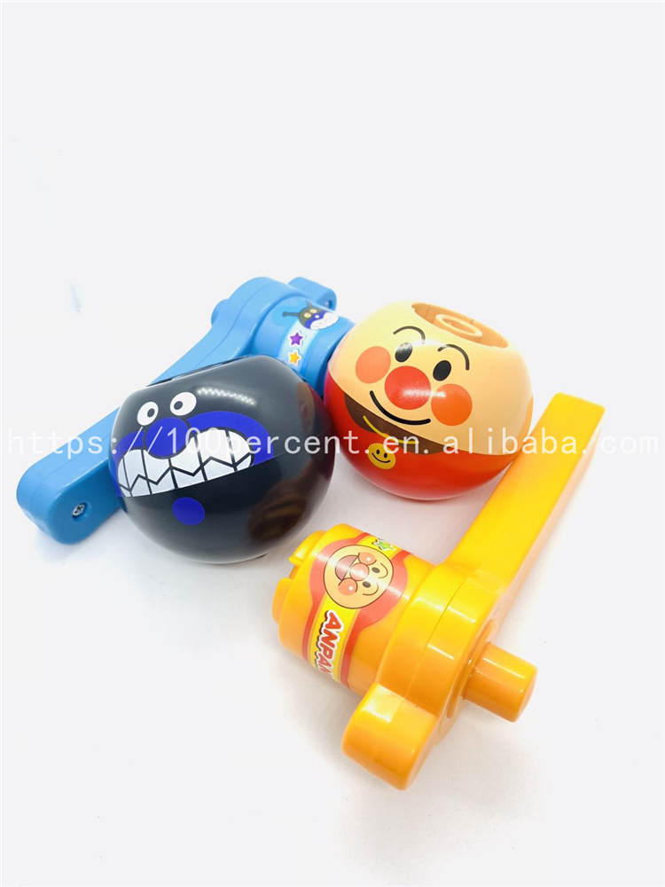 2019 new design plastic spinning top toys hot selling for bred super man for kids