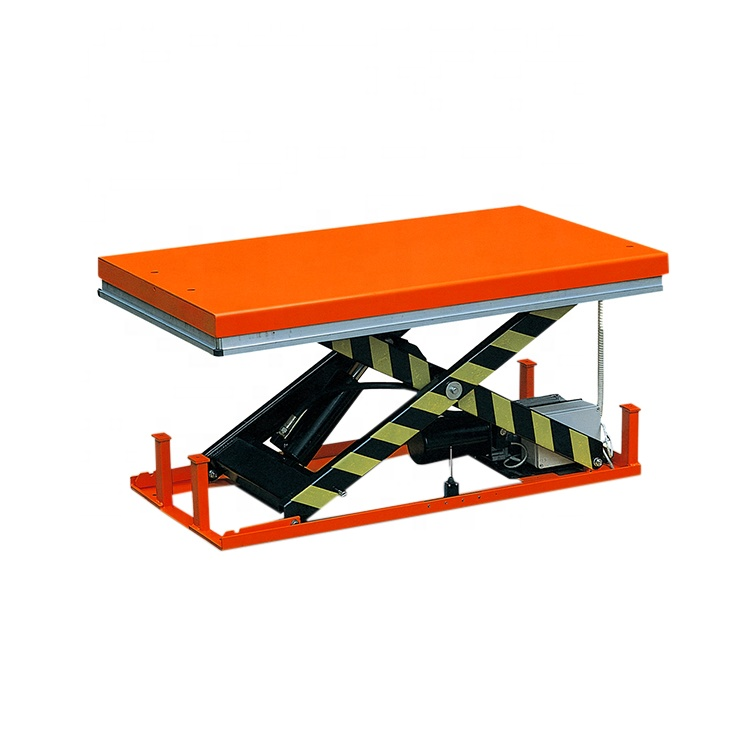 Load 1000kg Height 1300mm Size 1000*2000mm Electric hydraulic table lift