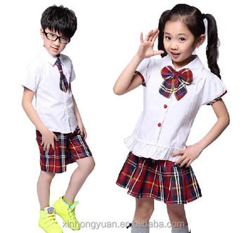 Unisex Cotton Summer School Uniform Designer Kids Clothes Supplier - Buy  Designer Kids Clothes,Kids School Uniforms,School Uniforms Clothes Product  on