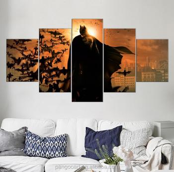 Kanvas Lukisan Dibingkai 5 Pieces Kanvas Cetak Gambar Untuk Ruang