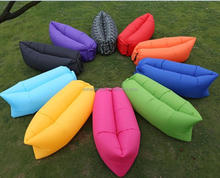 Ultralight easily set up inflatable sleeping bag,inflatable air lounger