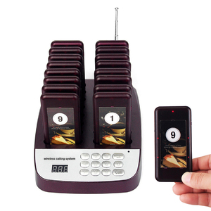 Hot selling high quality restaurant guest pager beeper Paging System