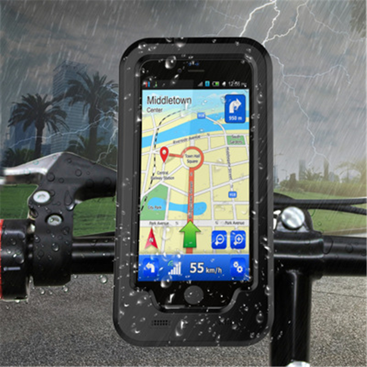 Bike Accessories Waterproof Mobile Phone Case,Super shockproof Phone Holder for iPhone 7P