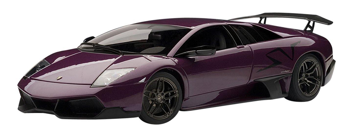 Get Quotations · Autoart 1/18 Lamborghini Murcielago Lp670 4 Super Veloce  (Purple)