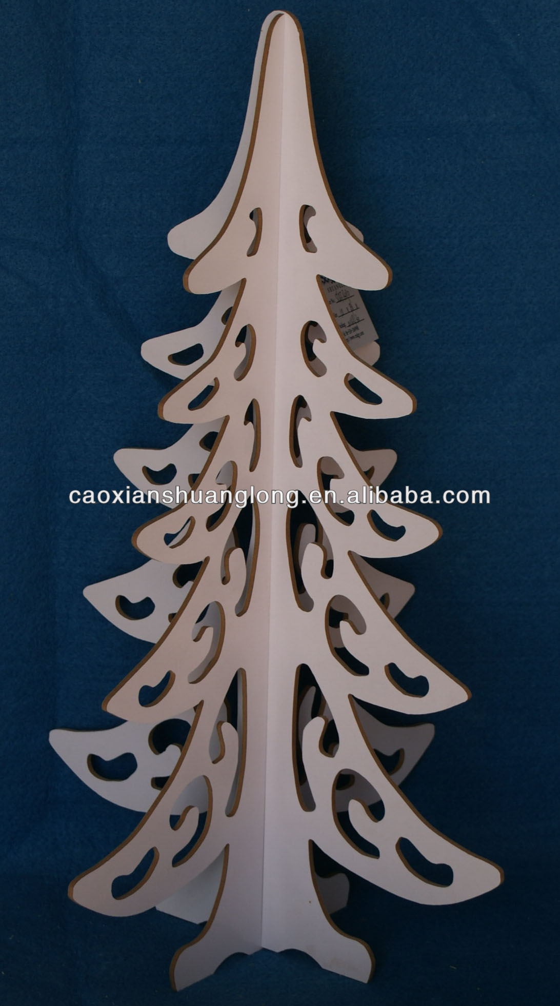 #0E2337 Décorations De Noël En Bois De Découpe Laser Décoration De  6437 décoration noel laser 1092x1962 px @ aertt.com