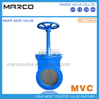 Professional supply iron or steel body material low pressure pn25 pn16 pn10 knife gate valve ot others