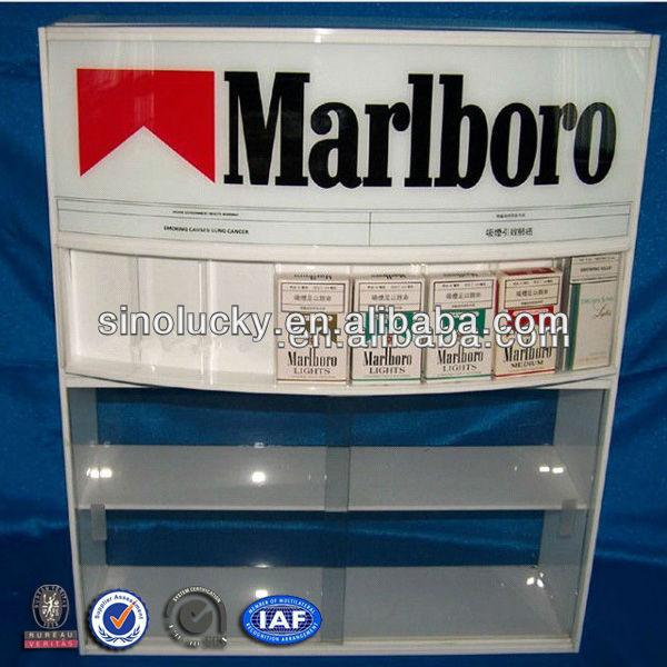 3 Floor Acrylic Cigarette Rack