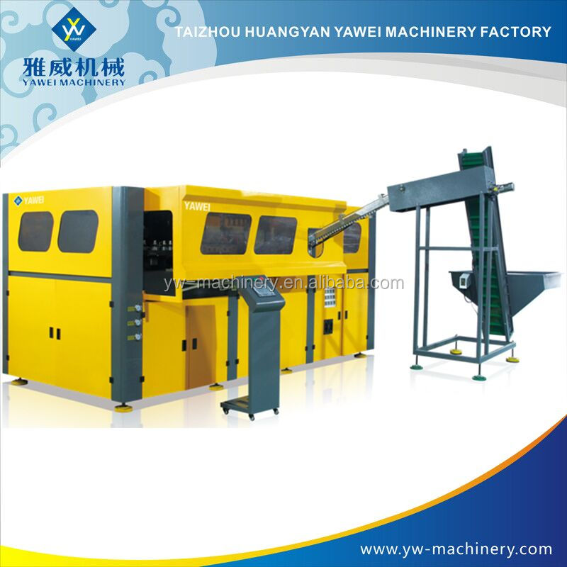 935ml dry blackberry QCS-10A-2 Cheap Price Semi Automatic Injection PET Blow Moulding Machine For Small Bottles