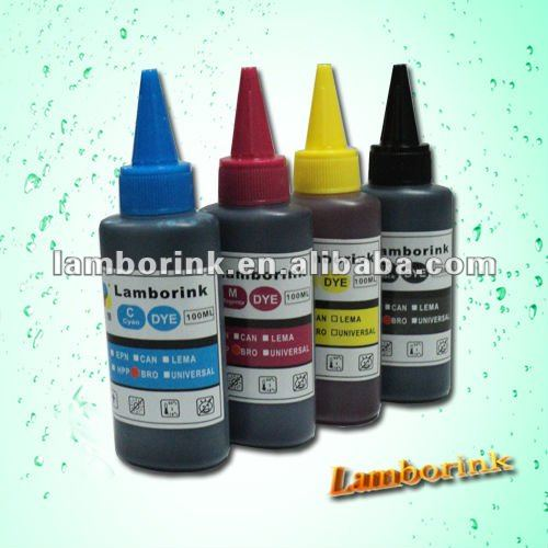 100ml 6 color UV dye ink for epson,canon,hp,brother