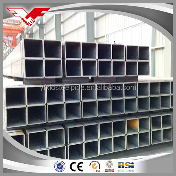 Latest designs wholesale high quality custom black paint coating erw steel pipe