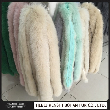 Natural Real Color Factory Price Animal Fur collar