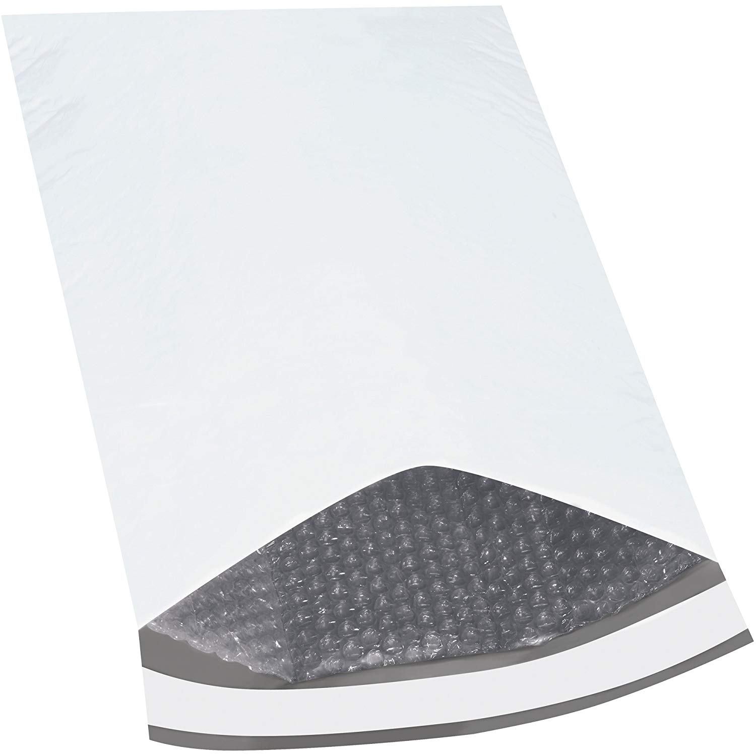 """Boxes Fast BFB839 Bubble Lined Poly Mailers, 12 1/2"""" x 19"""", White (Pack of 50)"""