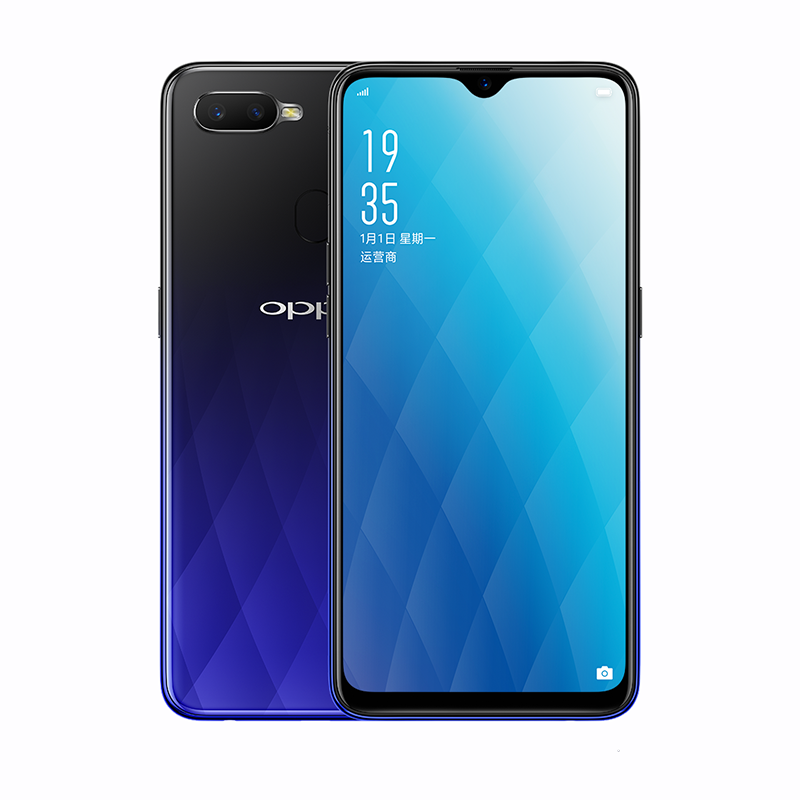 "In Stock Original OPPO A7x Mobile <strong>Phone</strong> 4G LTE Android 8.1 MT6771V Octa Core 4G+128G 6.3"" Water-droop Screen 16MP AI Selfie"