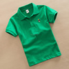 Custom printed children Polo collar T shirt,basic Tshirts, t shirt manufacturing