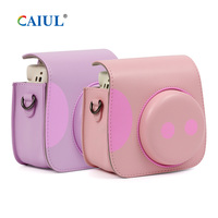 New Cartoon Style Lovely Pig Fujiflm instax Mini 8 / 9 Camera Case Bag