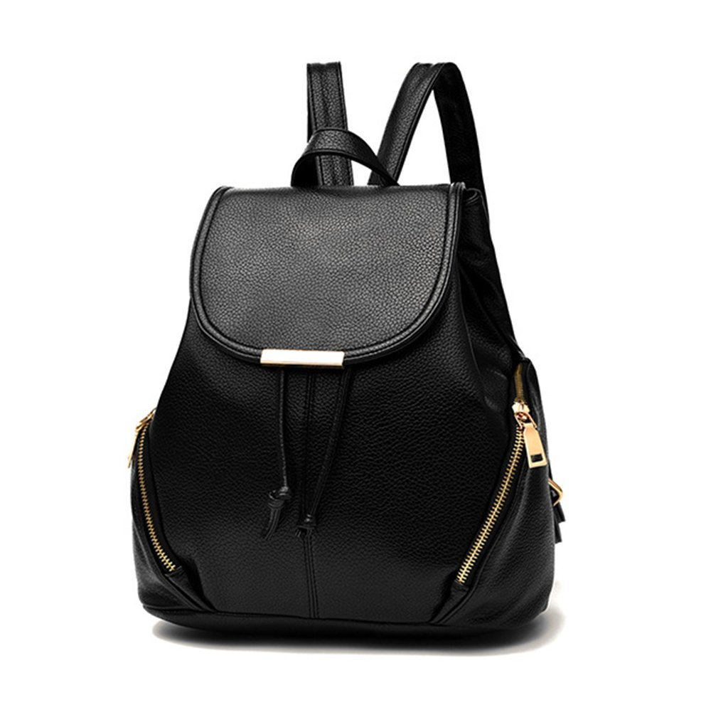 Get Quotations · aiseyi Women s Pu Leather Backpack Purse Casual Daypack  School Bag for Girls d4ca2554ea