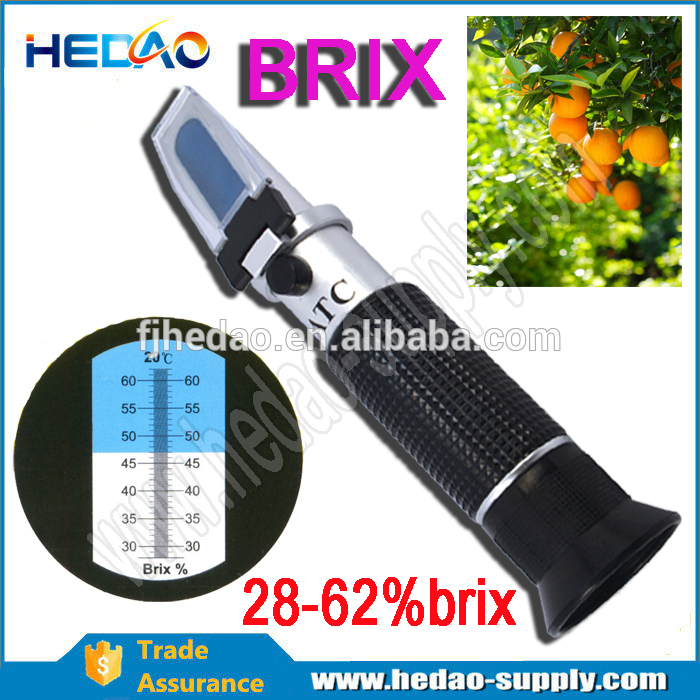 RHB-62ATC brix meter price 0-62%ATC with High Quality