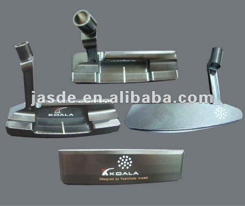 Golf Putter with full CNC milled (black beauty)