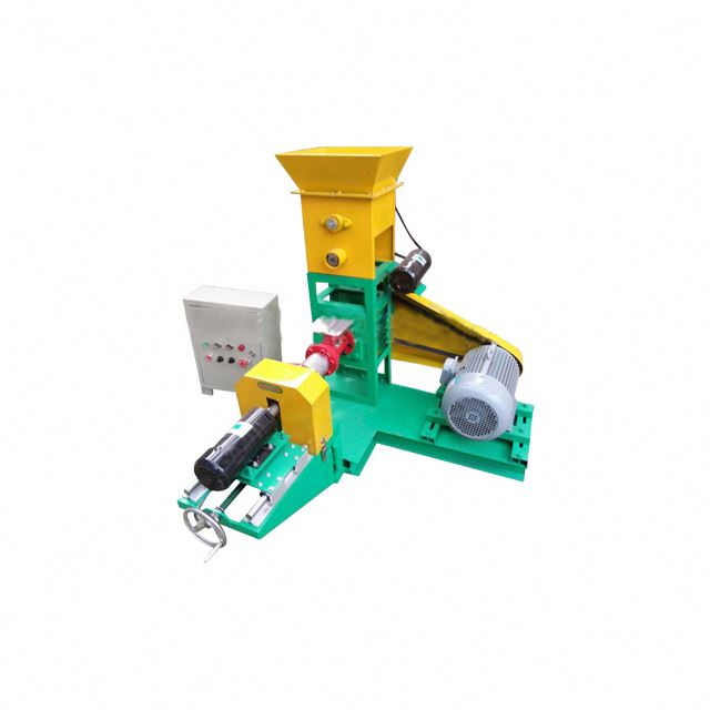 feed pelleting machine for fish/small floating fish food extruder/poultry puffed feed machine