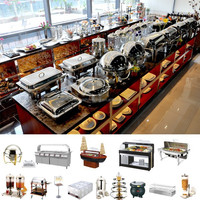 Hotel Banquet Cafeteria Kitchen Equipment /Restaurant Horeca Equipment Hotel Kitchen Set Wholesale Price