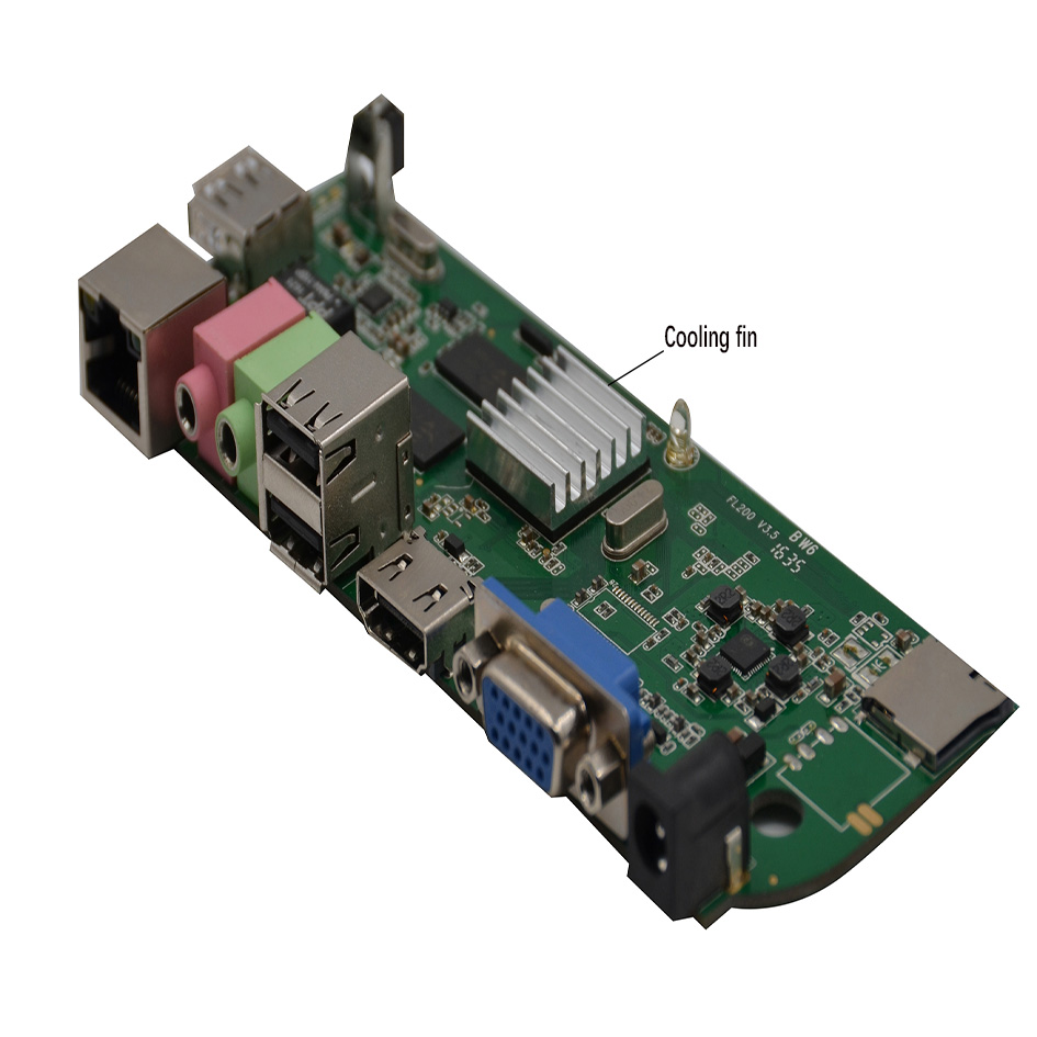 Cheap n computer thin client 512mb ram ddr3 4G flash dual core 1.2GHz manufacturer in Shenzhen China