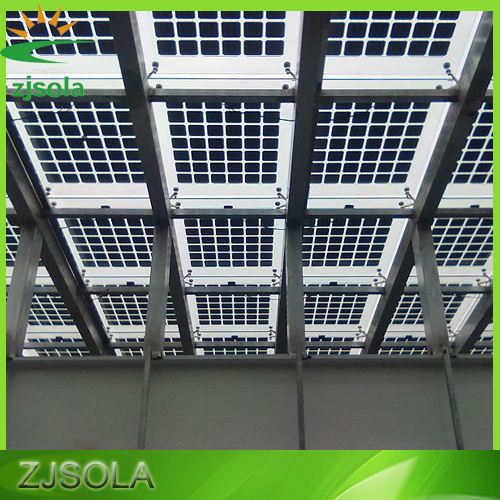 Best price 300w BIPV models, building integrated photovoltaics, transparent solar panel
