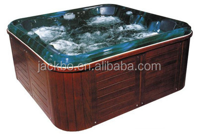 2015 new Luxury Outdoor Combo Massage Garden Spa Tub