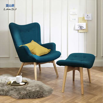 Featherston Mid Century Modern Contour Chair Ottoman Buy Grant