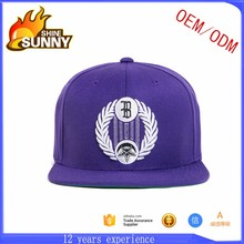 Custom blank 6 panel hat wholesale los angeles vintage snapback cap