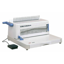 Factory Price a4 Size Comb Binding Machine