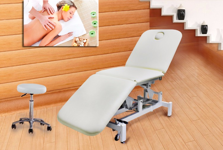 2016 beauty spa supply furniture electric facial massage bed 8801