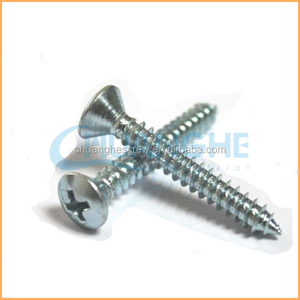 Factory supply high quality 2mm screwbrass self tapping screw 2 mm