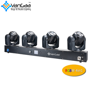 New 4x32W LED 4 Heads Linear Beam moving Head KTV/Disco/DJ Lights