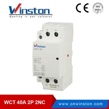 Alibaba Electricity 40a 2 Phase 2nc Ac Magnetic Wct Types Of Contactor -  Buy Types Of Contactor,2 Phase 40a Contactor,Ac Magnetic Contactor Product  on