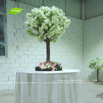 Gnw 4ft White Cherry Blossom Tree Branch Centerpiece For Wedding