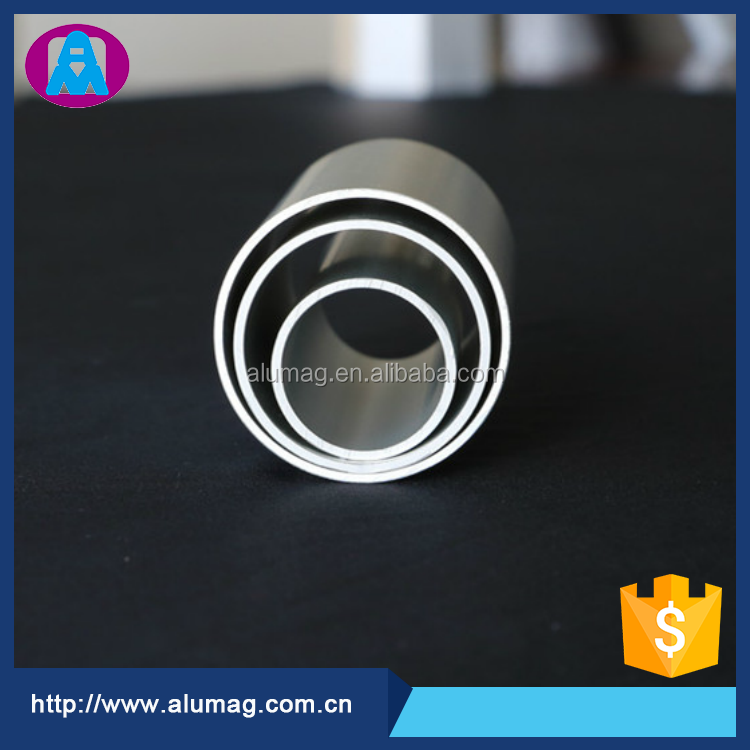 Taiwanese factory supply 6063 brushed aluminium tube
