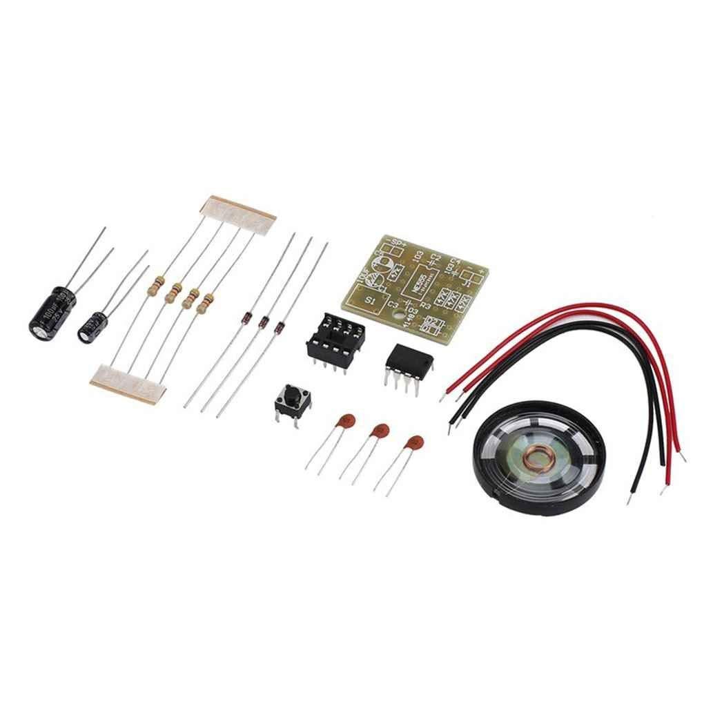 Minzhi NE555 DIY Doorbell Suite Electronic Production Doorbell Suite DIY Kit Set Capacitance