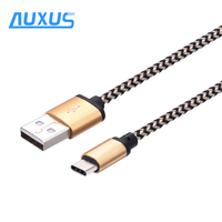 High Speed Type C Cable USB 3.0 3.1 Charging Data Cable Nylon Braided Aluminum USB Cable for Mobile Phone