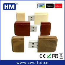China recyclable wooden usb key