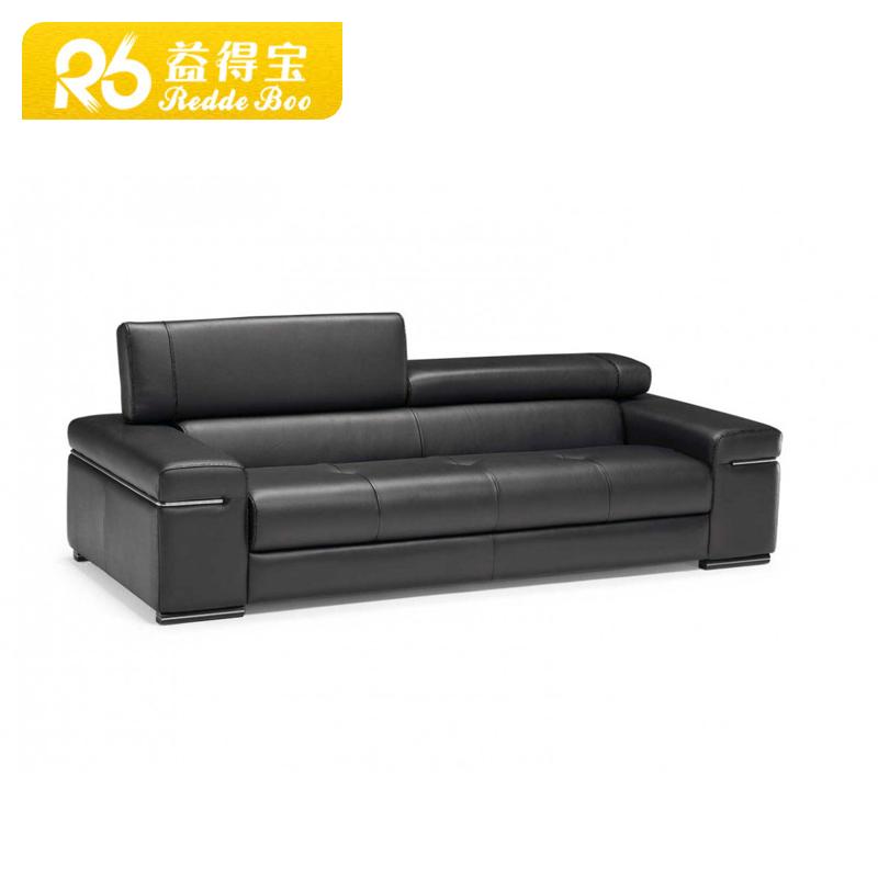 נירוסטה מודרנית ספה הגדר עם עץ טיק עיצובי סט ספה