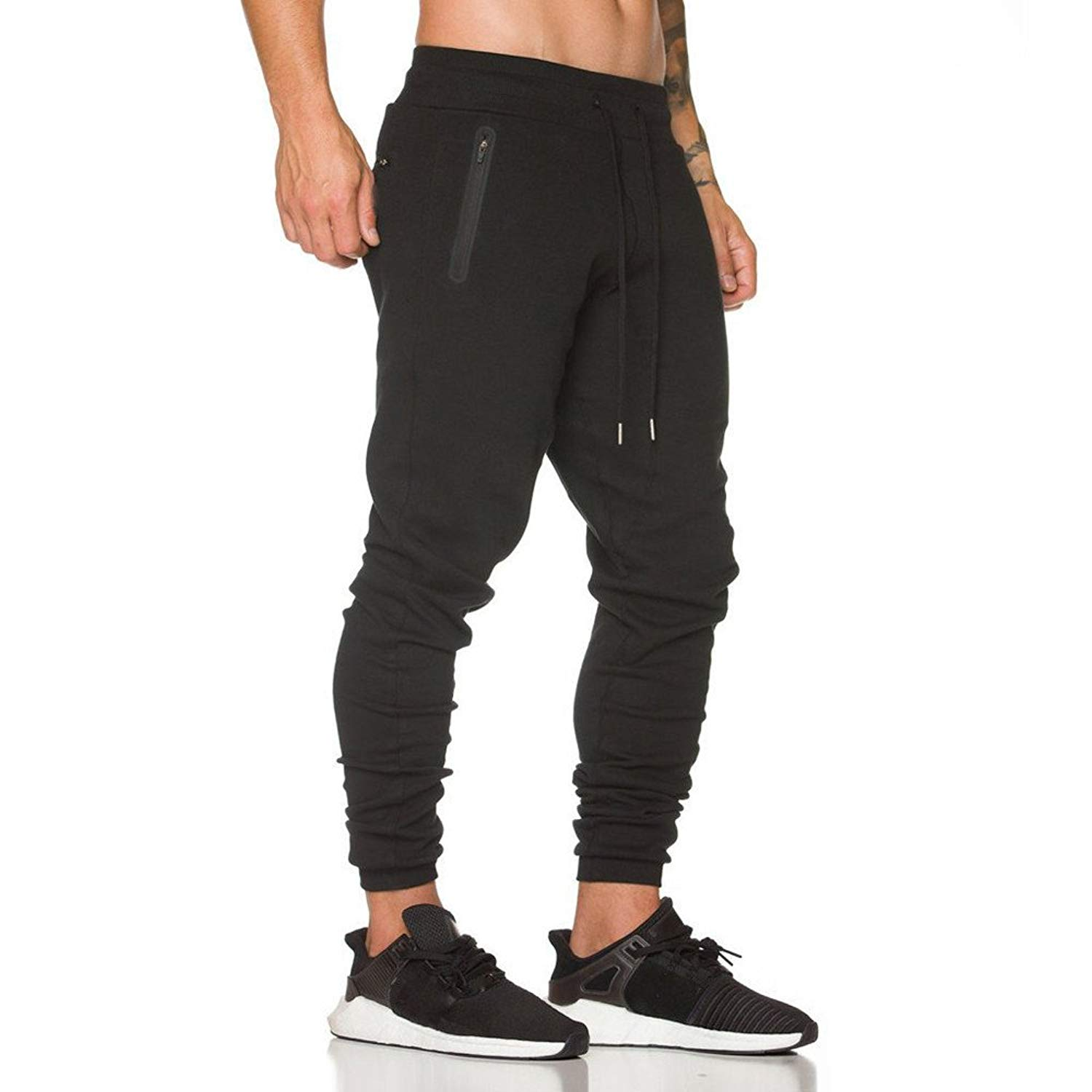 Morecome Men Pant Men Sweatpants Trousers,Casual Elastic Climbing Baggy Jogging Pants for Men