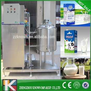 ताजा दूध Pasteurizer/दूध Pasteurizing मशीन CE प्रमाण पत्र के साथ/ठंडा pasteurized मशीन