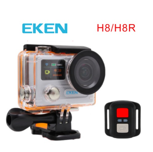 Action camera 4K Eken H8R SPCA6350 Real 4K 30fps Ultra HD Dual screen Go -pro style Eken H8 with 2.4G remote control