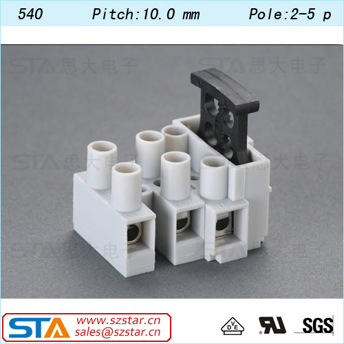 540 stainless steel flame retardant Wire protector blade fuse holder marine fuse panel electrical terminal block